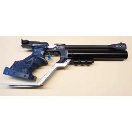Walther LP500 mit Auflageplatte Horizont