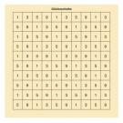 LP/LG/KK Gaudi-/Glücksscheibe Zahlenfeld