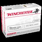 Winchester 9mm Luger 115 gr. FMJ